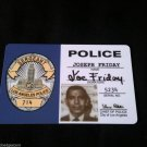 "Joe Friday ""DRAGNET"" 60's Tv Show ID Card"