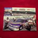 NASCAR Lake Speed HAND Signed 5X7 Color Card Wynn's Kmart Racing Car #83