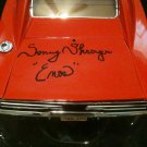 Sonny Shroyer SIGNED General Lee 1/18 DUKES OF HAZZARD 1969 Charger LAST PRODUC.
