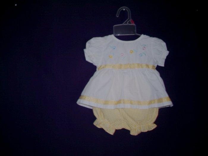 3 - 6 Mths - Small Steps - Infant Girl Pants Set