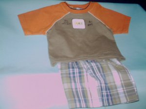 3 -6 mths - Sprocrets - Infant boy-  pant set
