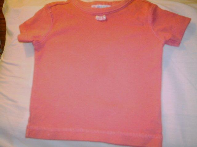 0- 3 MTHS - MINIWEAR - INFANT GIRL -PULLOVER SHRT