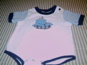 6 - 9 MTHS - SESAME STREET - INFANT BOY ROMPER