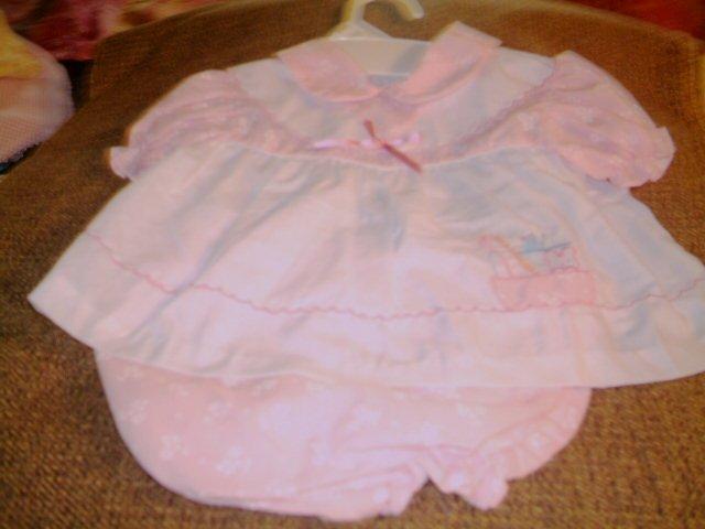 12 MTHS - INFANT GIRL DRESS SET