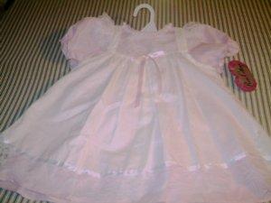 24 MTHS - ROSE COTTAGE - INFANT GIRLS - PINAFORE DRESS
