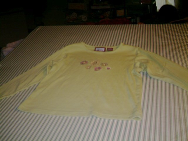 SIZE 6 - 6X - PRIEMER INTL - GIRLS- LONG SLEEVE SHIRT