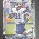 2015 Topps Chrome Diamond #187 Deontay Greenberry