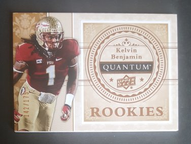 2013 Upper Deck Quantum '14 Draft Picks #XRC16 Kelvin Benjamin
