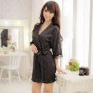 Transparent lace pajamas for woman