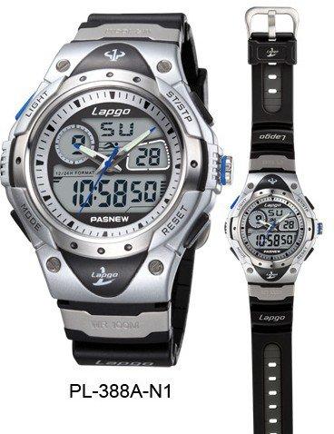 pasnew388A, 100 meters waterproof, fashion watch men's watch, outdoor sports watch