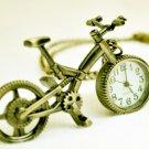 Bike pocket watch, necklace pocket watch