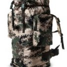 Army green camouflage backpack, mountaineering shoulder bag