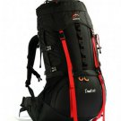 65L+10 CROSS  outdoor climbing package with rain cover