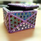 Crystal Jewelry Bling Bling Accessories Box Indian Style