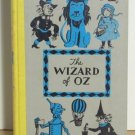 Wizard Of Oz Vintage Book 1944 Illustrated Rare Artwork Free Shipping