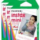 3 Packs FujiFilm Fuji Instax Mini Film, 30 Instant Photos Polaroid 7S 8 25 50S 70 X122