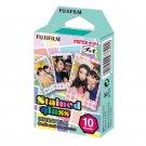 1 Pack Stained Glass FujiFilm Fuji Instax Mini Film, 10 Instant Photos Polaroid 7S 8 25 50S 70 X136
