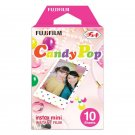 1 Pack Candy Pop FujiFilm Fuji Instax Mini Film, 10 Instant Photos Polaroid 7S 8 25 50S 70 X140