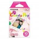 1 Pack Candy Pop FujiFilm Fuji Instax Mini Film, 10 Instant Photos Polaroid 7S 8 25 50S 70 X140
