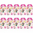 10 Packs Candy Pop FujiFilm Fuji Instax Mini Film, 100 Instant Photos Polaroid 7S 8 25 70 X140