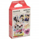 1 Pack Disney Mickey and Friends FujiFilm Fuji Instax Mini Film, 10 Photos Polaroid 7S 8 25 70 X236
