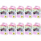 10 Packs Shiny Star FujiFilm Fuji Instax Mini Film, 100 Photos Polaroid 7S 8 70 X238