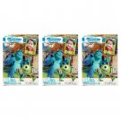 3 Packs Pixar Monster University FujiFilm Fuji Instax Mini Film, 30 Photos Polaroid 7S 8 70 X243