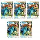 5 Packs Pixar Monster University FujiFilm Fuji Instax Mini Film, 50 Photos Polaroid 7S 8 70 X243
