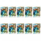 10 Packs Pixar Monster University FujiFilm Fuji Instax Mini Film, 100 Photos Polaroid 7S 8 70 X243