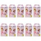 10 Packs My Melody and Kuromi FujiFilm Fuji Instax Mini Film, 100 Photos Polaroid 7S 8 70 X291