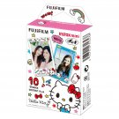 1 Pack Sanrio Hello Kitty 2016 FujiFilm Fuji Instax Mini Film, 10 Photos Polaroid 7S 8 25 70 X349