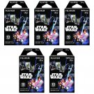5 Packs Star Wars FujiFilm Fuji Instax Mini Film, 50 Photos Polaroid 7S 8 25 50S 70 X338