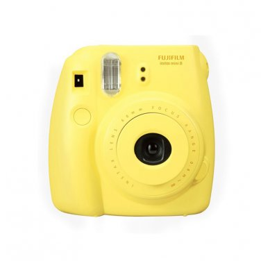 Yellow Colour FujiFilm Fuji Instax Mini 8 Instant Photos Films Polaroid Camera