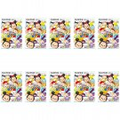 10 Packs Tsum Tsum 2016 FujiFilm Fuji Instax Mini Film, 100 Photos Polaroid 7S 8 25 70 X350