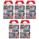 5 Packs One Piece 2015 FujiFilm Instax Mini Film, 50 Photos Polaroid 7S 8 25 70 X340
