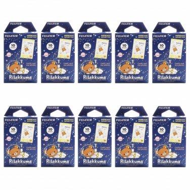 10 Packs Rilakkuma Space FujiFilm Instax Mini, 100 Photos Polaroid 7S 8 25 70 X341