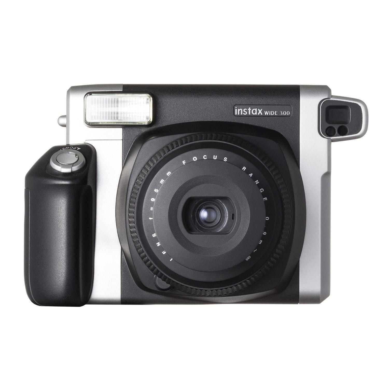 Black Colour FujiFilm Fuji Instax WIDE 300 Instant Photos Films Polaroid Camera