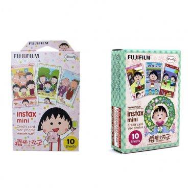 Chibi Maruko Chan Value Set FujiFilm Instax Mini 20 Photos Polaroid 7S 8 25 70 90