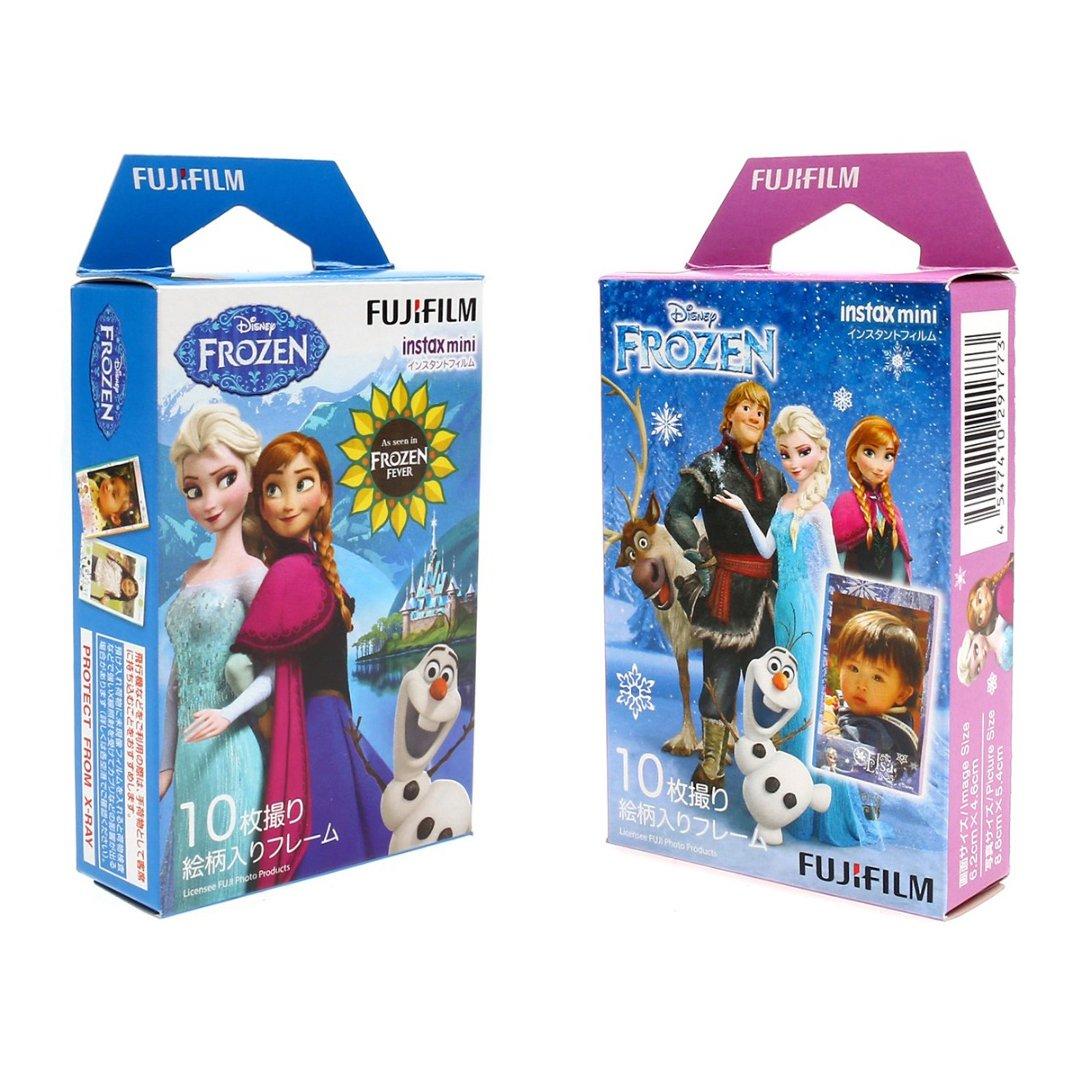 Disney Frozen Value Set FujiFilm Instax Mini Instant 20 Photos Polaroid 7S 8 25 70 90