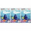 3 Packs Disney Pixar Finding Dory 2nd FujiFilm Instax Mini 30 Photos Polaroid 7S 8 25 50S 70 X356