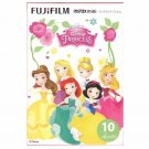 1 Pack Disney Princess FujiFilm Instax Mini 10 Photos Polaroid 7S 8 25 50S 70 X357