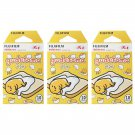 3 Packs Sanrio Gudetama Egg 2ND FujiFilm Instax Mini 30 Photos Polaroid 7S 8 25 50S 70 90 X359