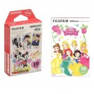 Disney Princess & Mickey FujiFilm Instax Mini 20 Instant Camera Photos Polaroid 7S 8 25 70 90