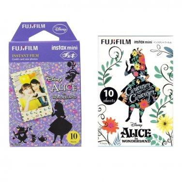 Alice in Wonderland Value Set FujiFilm Instax Mini 20 Instant Camera Photos Polaroid 7S 8 25 70 90