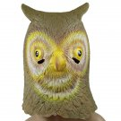Creepy Owl Bird Head Face Animal Costume Halloween Fun Party Prop Carnival Mask