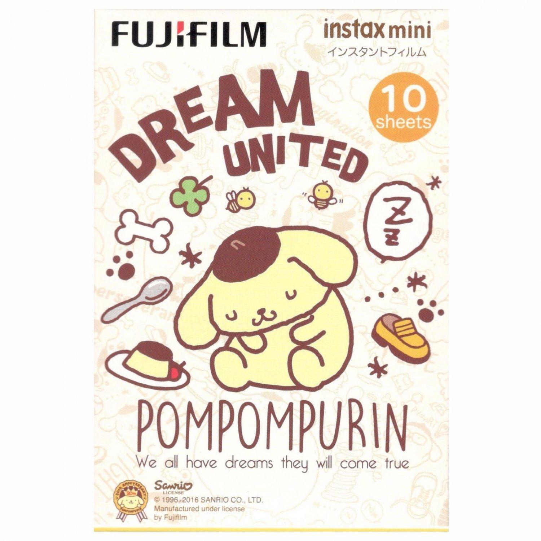 1 Pack 10 Photos Sanrio Pompompuri�n FujiFilm Instax Mini Film Polaroid X381