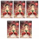 5 Packs 50 Photos Astro Boy FujiFilm Instax Mini Film Polaroid X382