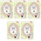 5 Packs 50 Photos Macaroon FujiFilm Fuji Instax Mini Film Polaroid 7S 8 50S SP-2 X391