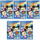 5 Packs 50 Photos Disney Mickey Minnie FujiFilm Fuji Instax Mini Film Polaroid X392