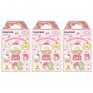3 Packs Sanrio Characters FujiFilm Fuji Instax Mini Film, 30 Instant Photos Polaroid 50S SP-2 X520